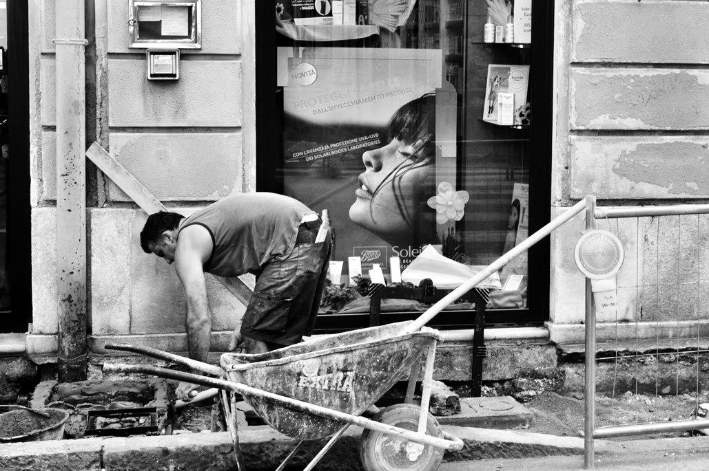 Immagini riprese in luoghi pubblici